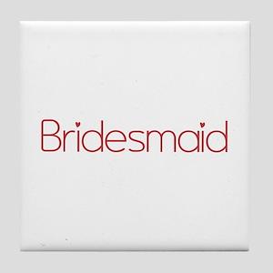 Bridesmaid Tile Coaster