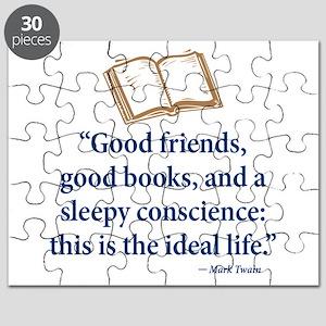 Good Friends, Good Books - Puzzle