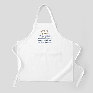 Good Friends, Good Books - Apron