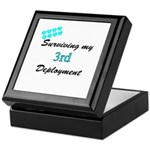 ARMY Wife Surviving 3rd Deployment Keepsake Box