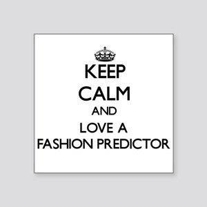 Keep Calm and Love a Fashion Predictor Sticker