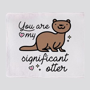 You Are My Significant Otter Stadium Blanket