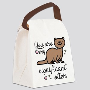 You Are My Significant Otter Canvas Lunch Bag