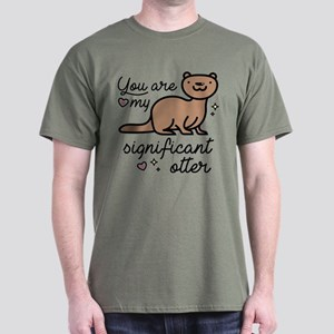 You Are My Significant Otter Dark T-Shirt