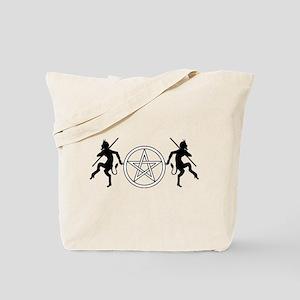 Pentacle Pan Tote Bag
