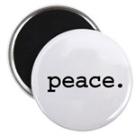 peace. Magnet