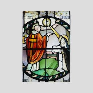 Saint Imelda Rectangle Magnet
