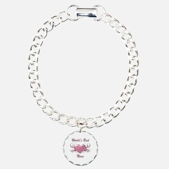 World's Best Niece (Heart) Bracelet
