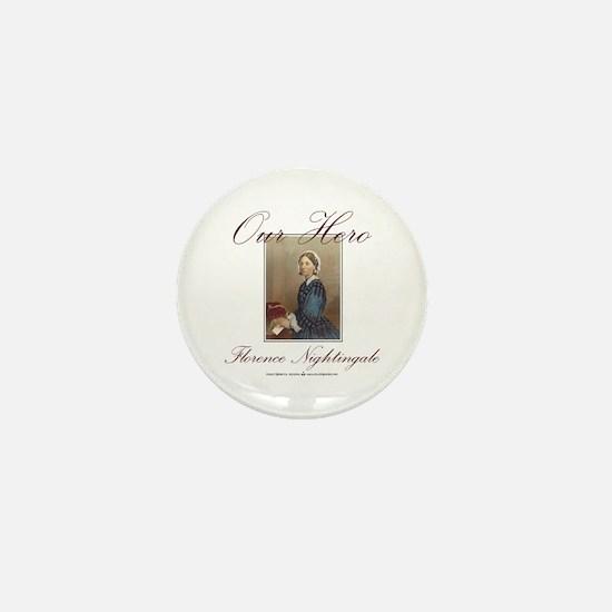 Our Hero Florence Nightingale Mini Button