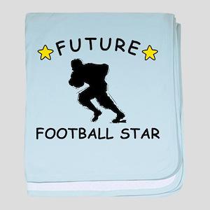 Future Football Star baby blanket