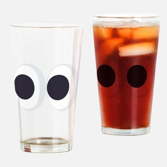 Eyes Emoji Drinking Glass
