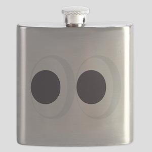 Eyes Emoji Flask