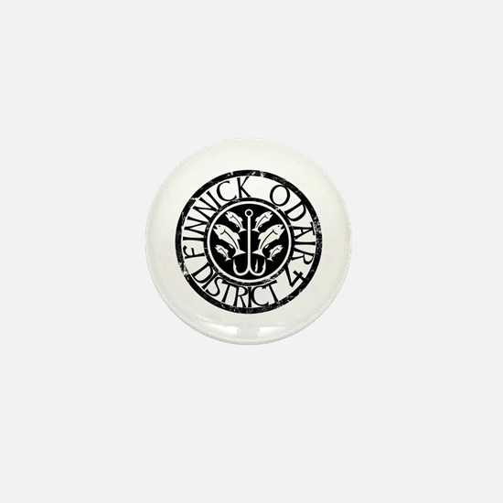 Finnick District 4 Mini Button