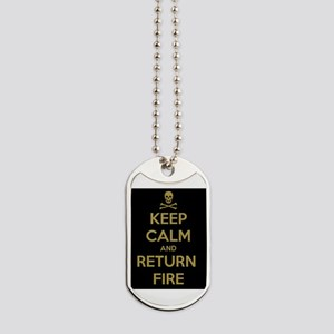 Keep Calm Dog Tags