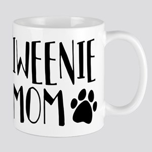 Chiweenie Mom 11 oz Ceramic Mug