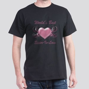 World's Best Sister-In-Law (Heart) Dark T-Shirt