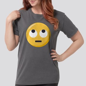 Face with rolling eyes Womens Comfort Colors Shirt