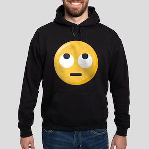 Face with rolling eyes Emoji Hoodie (dark)