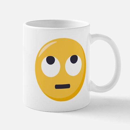 Face with rolling eyes Emoji Mug