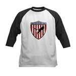 U S A Metallic Shield Baseball Jersey