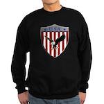 U S A Metallic Shield Sweatshirt