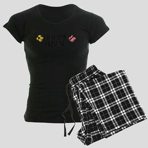 First Time Grandma Women's Dark Pajamas