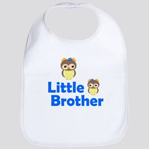 Little Brother Owl Bib