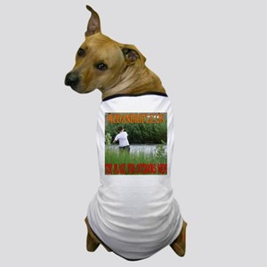 RodandRifleUS Fishing in the Tall Grass Dog T-Shir