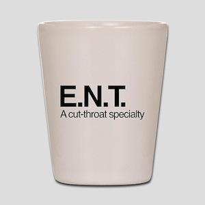 ENT A Cut-Throat Specialty Shot Glass