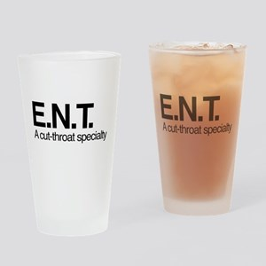 ENT A Cut-Throat Specialty Drinking Glass