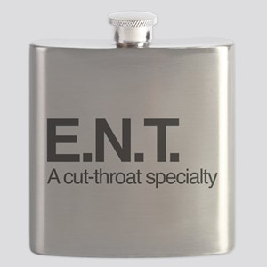 ENT A Cut-Throat Specialty Flask