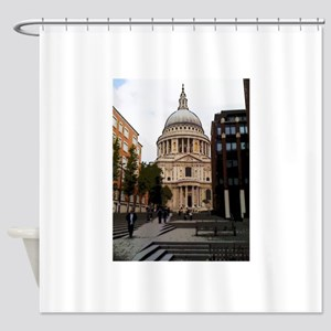 Stairway To History Shower Curtain