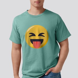 Face with stuck out ton Mens Comfort Colors Shirt