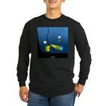Deep Sea Sign Long Sleeve Dark T-Shirt