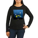 Deep Sea Sign Women's Long Sleeve Dark T-Shirt