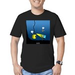 Deep Sea Sign Men's Fitted T-Shirt (dark)