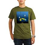 Deep Sea Sign Organic Men's T-Shirt (dark)