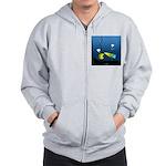 Deep Sea Sign Zip Hoodie
