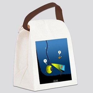 Deep Sea Sign Canvas Lunch Bag