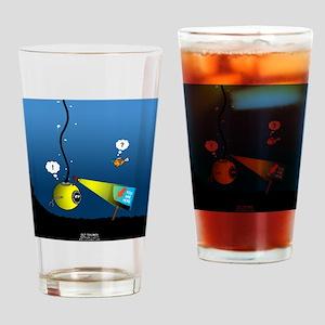 Deep Sea Sign Drinking Glass