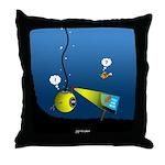 Deep Sea Sign Throw Pillow