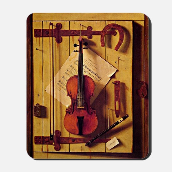 Still Life with Violin and Music - Willi Mousepad