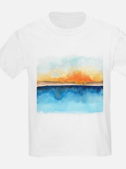 Orange Rays Permeate T-Shirt