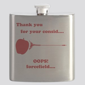 Thank You For Your Consideration : Catching  Flask