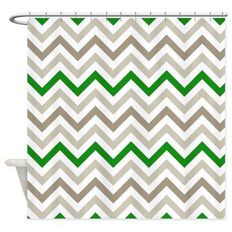 Winter Zig Zags Shower Curtain