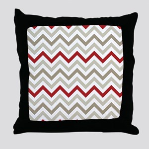 Winter Zig Zags Throw Pillow