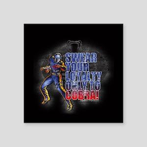 Cobra Commander Sticker
