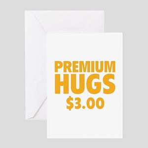 Premium Hugs Greeting Card