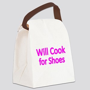 WILL COOK FOR SHOES 2 Canvas Lunch Bag