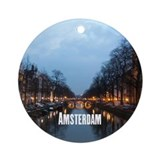 Christmas netherlands Round Ornaments